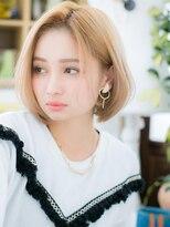 ■ハイトーンカラー*外国人金髪ショート106-7★戸頭10代20代30代