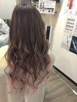 ヘアーグランデシーク(Hair Grande Seeek)spring♪ピンクアッシュグラデcolor♪
