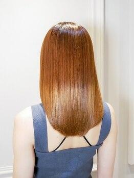 オーブ ヘアー カレン 長崎時津店(AUBE HAIR calen)の写真/髪の悩みを解消!!クセが気になる方は、毛先まで自然なストレートを創るAUBE HAIRの縮毛矯正で美髪に♪