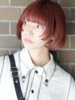 【arte HAIR】ボブ/姫カット/コーラルピンク