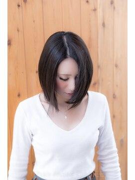 ヘアーメイク ダンス(hair make DANCE)☆バレイアージュアッシュグレー☆