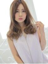 アグ ヘアー ドレス 喜久田店(Agu hair dress)ニュアンスカールで小顔セミロング