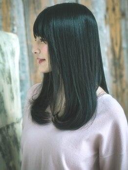 ヘアーアンドメイク ルナルナ 山形南店(HAIR&MAKE LUNALUNA)の写真/【水素スパ+カット¥3780】水素の力で活性酸素除去×炭酸効果で血行促進!美しい髪は頭皮ケアから♪