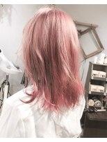 【Marl】ホワイトピンクのセミディ♪