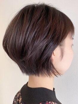 ゲリール ヘア プラス ケア(guerir hair+care)の写真/「丸みショート」も「ハンサムショート」もお任せ下さい♪軽やかな抜け感が◎毎日扱いやすいスタイルに*