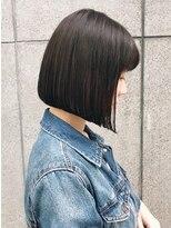 キラ 原宿 表参道(KILLA)黒髪ショートボブで小顔ミニボブ【担当 加納竜也】