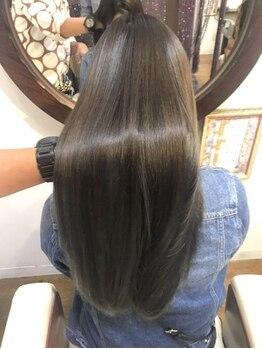 クー オブザヘアー 小倉魚町店(Q OO. OF THE HAIR)の写真/疲れた髪に栄養補給◇3stepの集中ケア【W処理トリートメント】でこれからの髪を守り健康的な美髪へ…*