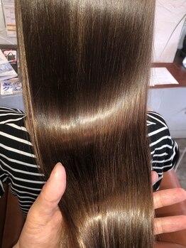 エクスグレイス 深草店(EX grace Hair Resort With Coccolo)の写真/【深草駅/龍谷大スグ】『本当に髪に艶が欲しい人』は是非お試しを!他店との圧倒的な差をご体感下さい!
