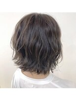 ネオヘアー 曳舟店(NEO Hair)ミニボブ×ラベンダーカーキ(曳舟)