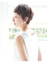 LiLy hair design ◇ 大人シンプルベリーショート