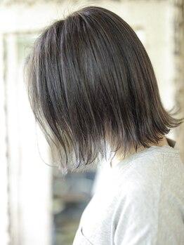 マギーヘア(magiy hair)の写真/カラーから夏色を取り入れて♪超おすすめ【N.カラー】は繰り返すほどに高発色&透明感◎ダメージ軽減♪