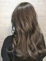 ナナナパレナ 梅田店(nanana parena)【髪質改善・艶髪】白髪染めもカラーを楽しむ♪透明感グレージュ