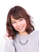 ヘアメイク ボンド(HairMake bond)ツヤっぽセミディ☆ナチュラルピンクの春スタイル