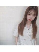 アフロートナゴヤ(AFLOAT NAGOYA)【似合わせ】韓国風ヘアとシースルーバング