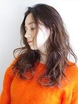 ラウンジ ヘアー 吉祥寺(ROUNGE hair)グレーベージュ ルーズなゆるふわロング
