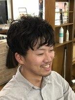 ヘアーアンドフェイス タケトイズ(hair&face TAKETO.is)マッシュラインパーマ