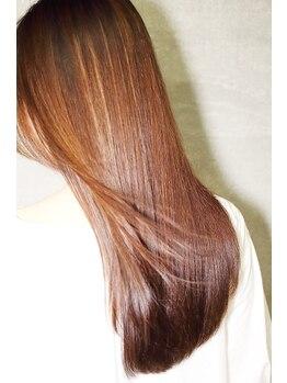 ヘアーブリーズ(hair breeze)の写真/極上の生トリートメントで髪をしっかり補修。hair breeze自慢のメニュー!!一度体験したらやみつき☆