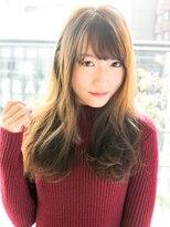 ジュイル シブヤ(JEWIL SHIBUYA)『Noz渋谷 中島』小顔カットの透明感セミロング