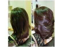 マリアクロス(MARIA CROSS)の雰囲気(80代の主婦、ボリューム感を与え張りのある髪質に改善しました。)