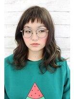 スパーク ヘアアンドフェイス(Spark HAIR&FACE)エメラルドグリーンのグラデーションカラー!Spark[柳澤 陽光]