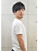 黒髪ツーブロックミニマッシュ☆3