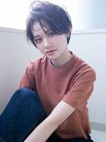 アンルポン 西梅田(un le pont)【un le pont西梅田】大人かわいい☆ナチュラル小顔ショートボブ