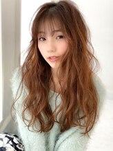 アグ ヘアー カノア 御影店(Agu hair kanoa)《Agu hair》色っぽゆるふわニュアンスウェーブ