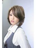 マーブル 河内松原店(Marble)☆大人ボブセミディ×3Dカラー☆