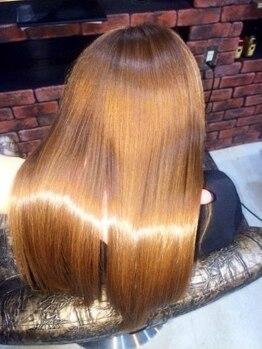 タイズ(ties)の写真/【D.H TREATMENT導入!!】今までにない誰もが求めていた美髪へ!!全MENUに組み合わせ可能なTRシステム登場☆