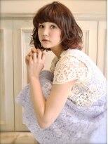 ロジッタ ROJITHAROJITHA☆BROOkLYNガール/ベージュカラーでゆるふわパーマ