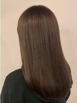 リエル(Liere)の写真/最高級のAujua[オージュア]で髪質改善◆髪の状態に合わせたオーダーメイドケア◇