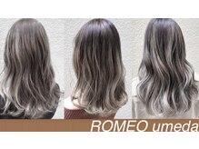 ロメオ(ROMEO)の雰囲気(髪質やお顔に似合わせたトレンドのデザインカラーはお任せ♪♪)