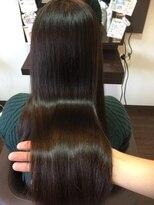 ヘアケアサロン シェーン(hair care salon Schon)ツヤ感重視の暗めのグレージュカラー