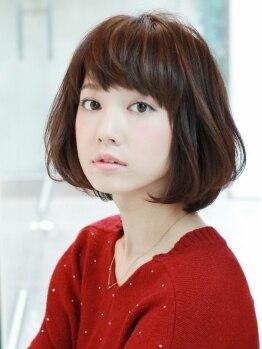 アンテナ デザインプラス 武蔵浦和店(ANTEnNA design+)の写真/『ANTEnNA』のカットは再現性と持ちが抜群にいい!髪が伸びても扱いやすく、美シルエットがずっと続く♪