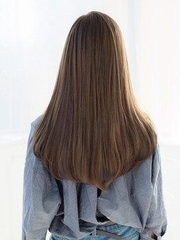 フィロバイラルジュアン(filo by Largean)の写真/<4/5★NewOpen>《ハホニコ髪質改善トリートメント》で傷んだ髪を芯から補修。髪質に合わせて4種類ご用意◎