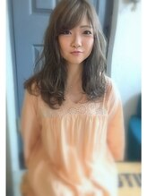 ホロホロヘアー(Hair)summer×ハイトーン×セミロング