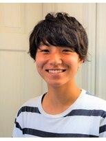 ヘアドレッサー ミアン(HAIRDRESSER MIEN)パーマでふんわりマッシュショート☆【稲毛】