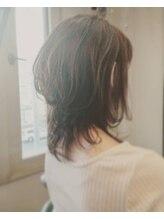 美容院 心花 トキメキ◆ウルフっぽいミディアムヘア◆