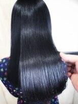 アンフィフォープルコ(AnFye for prco)ジュエリーシステム×縮毛矯正でつやっつやの艶髪ストレートヘア