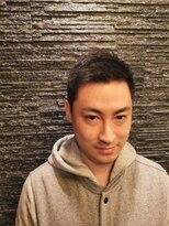 プレミアムバーバー 原宿店(PREMIUM BARBER produce by HIRO GINZA)ショートアップバング