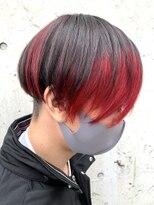 レーヴ(Reve)個性派 black × red color【レーヴ】