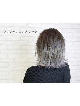 ビス ヘア アンド ビューティー 西新井店(Vis Hair&Beauty)シルバーアッシュ/グラデーション/オリーブアッシュ/小顔/美肌