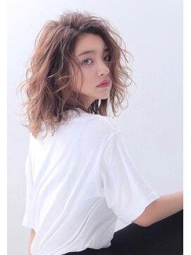 アリーズヘアー 心斎橋OPA(allys hair)毛先まで弾んだポップウェーブ☆