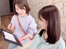 天王寺で人気の美容室・K-twoあべのキューズモールだから叶う♪『-3歳小顔カット』を体験[天王寺/阿倍野]