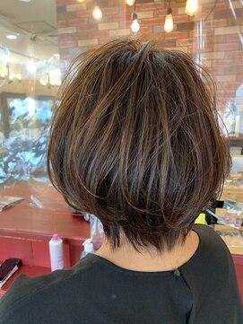 ヘアアンドメイクグラチア(HAIR and MAKE GRATIAE)ゆるふわボブ☆