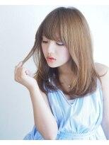 リリースセンバ(release SEMBA)release SEMBA『ナチュラルは顔周りできまる♪小顔ミディー☆』