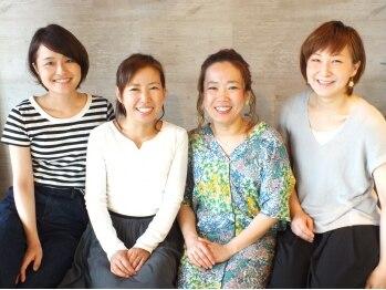 ブランシェ(Blanche)の写真/【堺東★女性Staffのみ】なりたいスタイルはもちろん、仕事やプライベートの話も同じ女性目線でできる♪