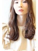 ジル ヘアデザイン ナンバ(JILL Hair Design NAMBA)【大人可愛いセミロング】リラクシーゆるウェーブ☆