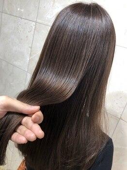 ヘアーサロン タカヒロ(Hair Salon TAKAHIRO)の写真/【三軒茶屋徒歩2分】髪質改善!話題のサブリミックトリートメント新導入◎まとまりのある、うるツヤ美髪に