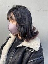 ディーカヘアー(Di KA HAIR)【Di-KA】ピンクラベンダー/インナーカラー/YUDA